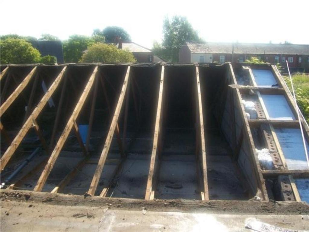 Here We Can See That The Roof Has Been Completely Re Tiled